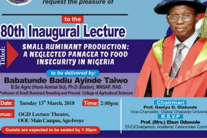 oou-80th-inaugural-lecture