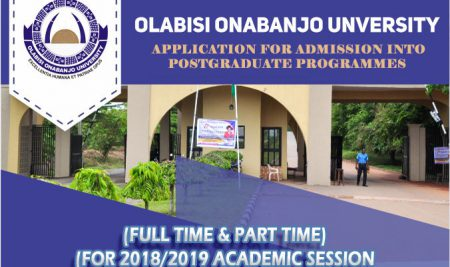 Application for Admission into Postgraduate Programmes