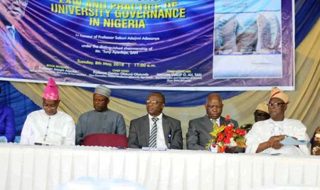 Faculty of Law Celebrates Ex Vice-Chancellor with Book Launch