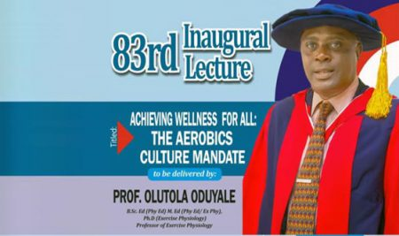 Professor Olutola Oduyale Delivers 83rd OOU Inaugural Lecture