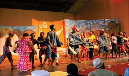 Vice-Chancellor Promises To Support Theatre Arts Department