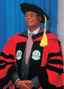 OOU DON conferred with Fellow of the Astronomical Society of Nigeria