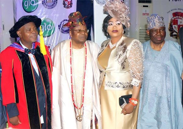 Professor, Ayodele Olukotun, The-Awujale, Ijebu-Land, oou