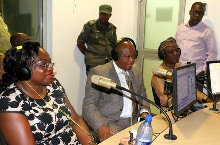 Prof.-Ganiyu-Olatunji-Olatunde-on-air-at-the-OOU-Radio-Station.