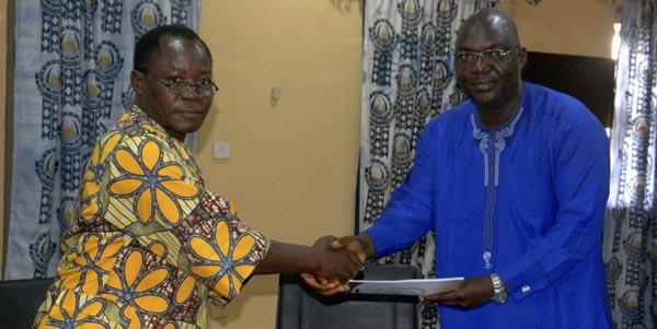 Prof. Dakul Dannan, NUC Accrediatation Team,  Prof. Deji Agboola